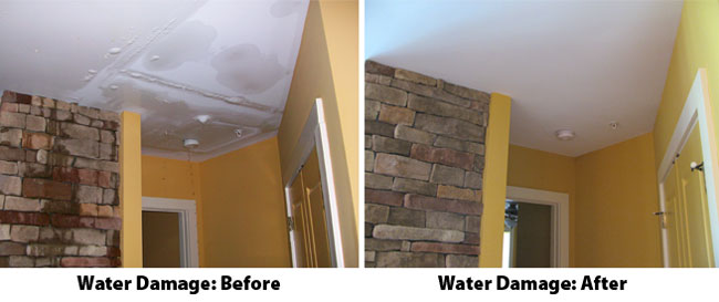 water damage restoration by Xtraordinay carpet care