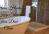 Home Hacks to Keep Shower Glass Door Clean