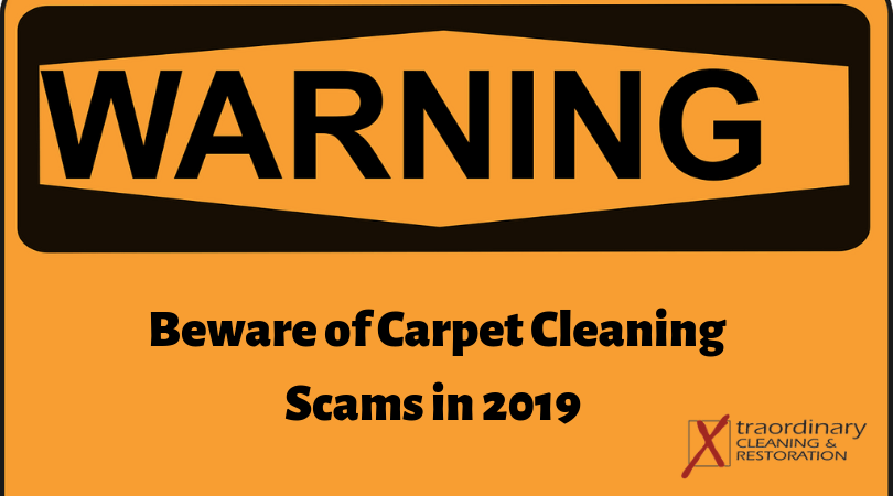 Carpet cleaning scams Temecula