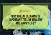 Why Green Cleaning is Important to Live Healthy and Happy Life