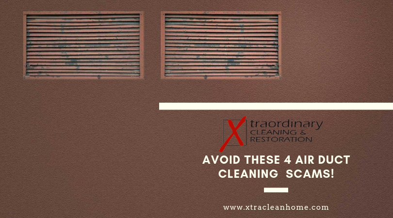 Air duct cleaning scams