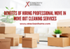 Benefits of Hiring Professional Move In Move Out Cleaning Services