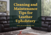 Cleaning and Maintenance Tips for Leather Upholstery